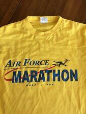 Vintage Air Force Marathon Camp Lemonier t-shirt Men's Large 1990s Fits Medium