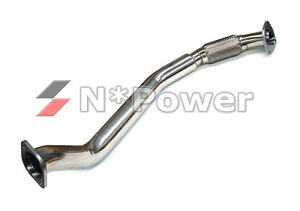 STAINLESS STEEL 80MM FRONT PIPE FOR TOYOTA SUPRA MA70 MA71 7M-GTE TURBO 86-92
