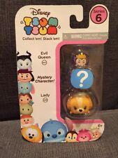 Disney Tsum Tsum Series 6 Mystery 3-pack W/ FACTORY ERROR Evil Queen