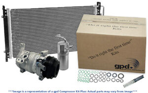 A/C Compressor-Compressor Kit with Cond New fits 99-01 Ford Mustang 3.8L-V6