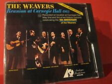 """APFCD 005 THE WEAVERS """" REUNION AT CARNEGIE HALL 1963 """" (ANALOGE GOLD-CD/SEALED)"""