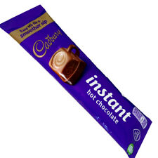 10 x Cadbury Instant Hot Chocolate Sachets 28g Individual Packets - FREE POSTAGE