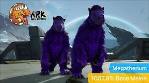 ark pc pve Top Stats 1007.8% Base Melee Blue Megatherium Male/Female