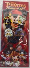 Disney Trading Pins ***  PIRATES  ***  Starter Set with LANYARD Set of 4