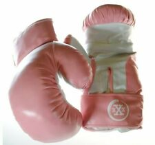 Triple Threat Quick Strap Fitness Training Boxing Gloves - Pink Adult 16oz