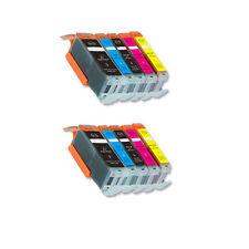 10 PK Printer Ink Set + chip fits Canon PGI-250 CLI-251 XL MG5522 MG5622 MG6622
