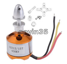 A2212 Brushless 930Kv Outrunner Motor Useful For Aircraft Quadcopter Helicopter