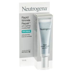 Neutrogena Rapid Wrinkle Repair Eye Cream 14mL Anti-Ageing Moisturiser Retinol