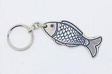 Metal Fish keychain ring luck amulet charm kabalah