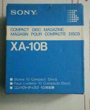Sony 10 Cd Magazine Changer Cartridge Model Xa-10B _ New In Box
