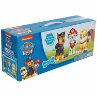 Paw Patrol 3 Pack Paint Your Own Figures Characters 3D Painting Art DIY Toy Set