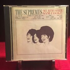 The Supremes We Remember Sam Cooke CD MPTD 5045 (LN Condition)