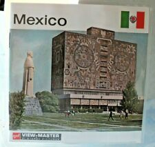 * MINT / SEALED * MEXICO VIEWMASTER REELS SET B011 RARE    D544