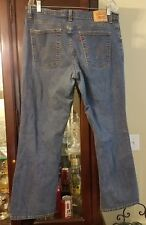 Levi 550 Womens Relaxed Boot Cut Jeans 16M