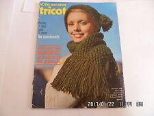VOTRE MAGAZINE TRICOT N°149 JANVIER 1972      K20