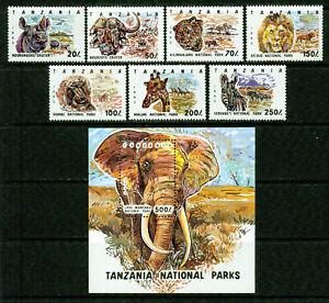 TANZANIA  1   - 1993  �� NATIONAL PARKS  – VF  **