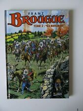 Brougue T2 L Renarde Franz Reed  cartonnée Soleil 1996