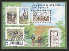 2013 Bloc n° F4725 St Jacques de Compostelle  NEUF**LUXE