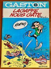 GASTON, LAGAFFE NOUS GATE N°8 par FRANQUIN,  DUPUIS, 1970, EO