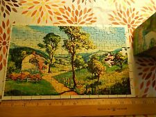 (Vtg) Warren -Built Rite- Mini Puzzles_No.555 Rose Covered Cottage (Indiana) Ltd