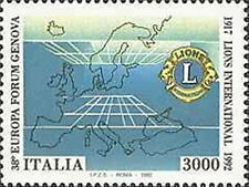 1992 ITALIA LIONS CLUB MNH **
