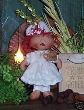 Primitive Raggedy Ann Tiny Annie Purse Doll Paper Pattern 497