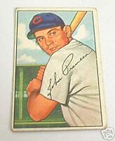 1952 BOWMAN JOHN PRAMESA #247 CHICAGO CUBS $60