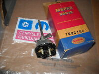 NOS MOPAR 1955 PLY HEAD LAMP W/BUILT IN CIRCUIT BREAKER