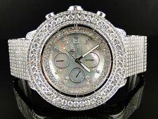 42 Ct Para Hombre Nuevo Breitling Super Avenger Diamante Reloj Personalizado plenamente Helado