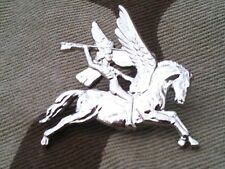 Airborne Pegasus Lapel Badge Parachute Military