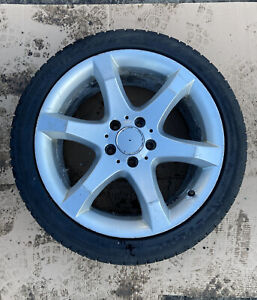 """Mercedes C Class W203 17"""" Rear Single Alloy Wheel & Free Tyre A2034013602 8.5J"""