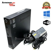 Lenovo Thinkcentre M73 MINI i5-4570T 4th 8GB 128GB/256GB SSD Windows 10 PRO Wifi