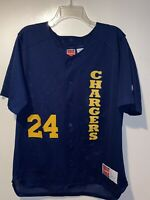 Vintage San Diego Chargers Rawlings NFL Baseball Style Jersey