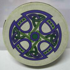 """Irish Music 8"""" Fanore Cross Ireland Waltons Bodhran Drum Beater 2 Items"""