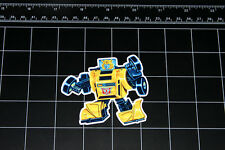 Transformers G1 Bumblebee box art vinyl decal sticker Autobot toy 1980's 80s