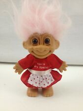 """Russ 5"""" Your Very Special Troll Doll With White Hair lucky bingo"""