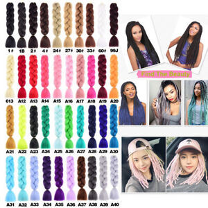 24'' Twist Jumbo Expression Braids Hair Xpression Braid Synthetic Hair Extension
