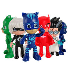 6Pcs PJ Masks Toy Car Action Figure Catboy Owlette Gekko Glider Mobile Kids Toys