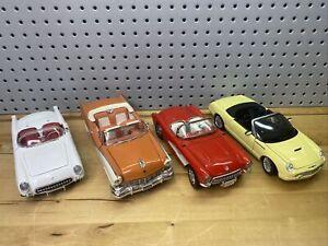 Lot Of 10 4 (four) 1:18 Diecast Model Cars - Eartl Maisto