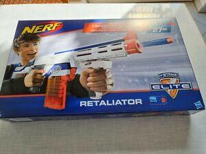 NEU&OVP- NERF Elite Retaliator inkl. Pfeile und Magazin !!!27m Reichweite!!!