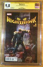 Nighthawk 1, CGC 9.8 2X SS, signed by Villalobos and Walker, graded NM/MT