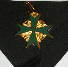 Black Eagle Knight Battle Secret Order Medal Symbol Cross Holy War Crusade Malta