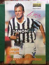 (FM29) JURGEN KOHLER JUVENTUS calcio POSTER 65x42 da Juve Squadra mia