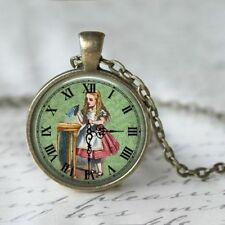 ALICE IN WONDERLAND PENDANT NECKLACE / Vintage Style Jewellery Gift Idea Potion