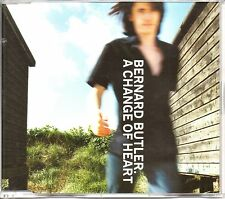 BERNARD BUTLER - A CHANGE OF HEART - RARE PROMO CD SINGLE