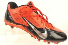 New Nike Alpha Pro Fly Wire Football Cleat Mens 16M Orange Black 579545-081 $90