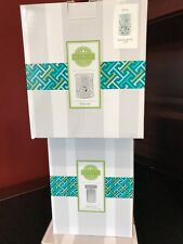 Scentsy Entwine Wax Warmer & Teal Sleeve Insert - New in Box! Use with Wax Bars!