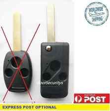 Flip Remote Key Case 3 Buttons For HONDA Odyssey S2000 CIVIC ACCORD JAZZ CRV