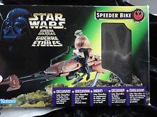 Star Wars Luke Skywalker Speeder Bike (Luke in Endor Gear) .1996. Hasbro.
