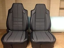 Torana Lx Ss Hatch Seat Skin Covers,slate With Grey golfball Inserts,aussie Made